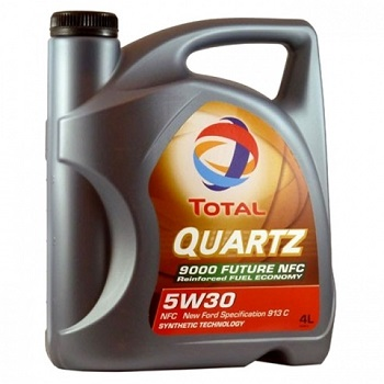 TOTAL Quartz 9000 Future NFC 5w30 Fully Synthetic Engine Oil