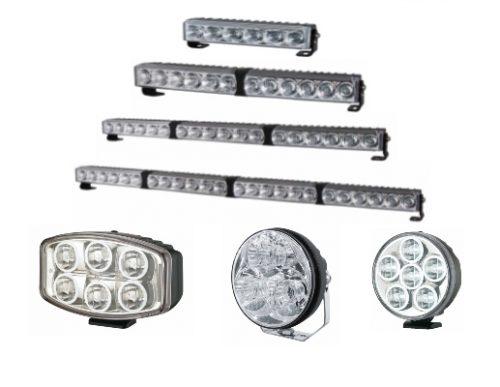 LED Light Bars & Spots